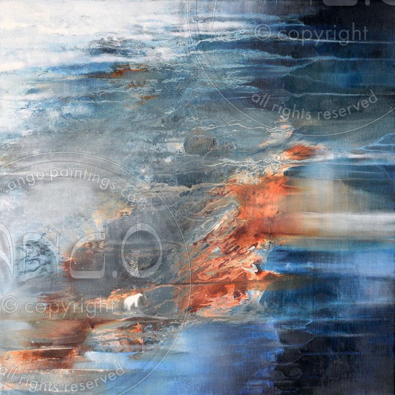 Ang.O Art : Abstract painting