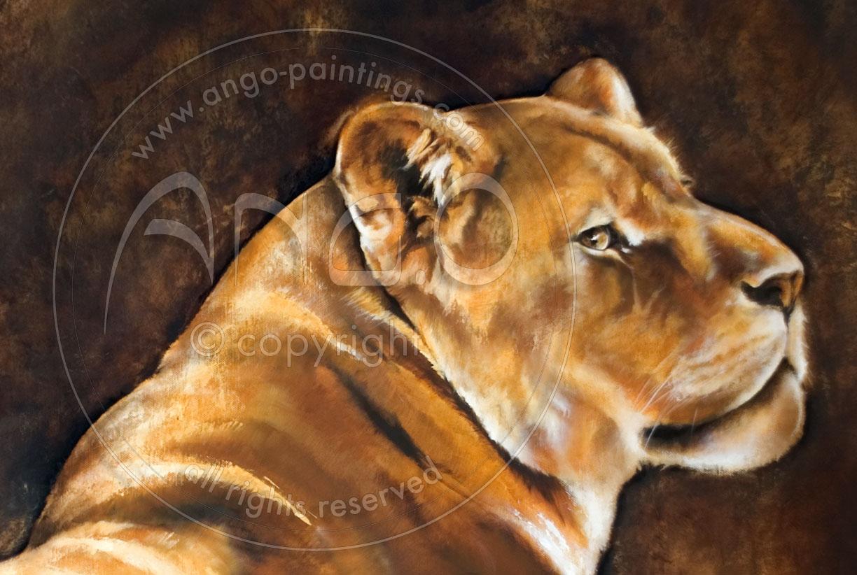 Animal paintings : Lio...