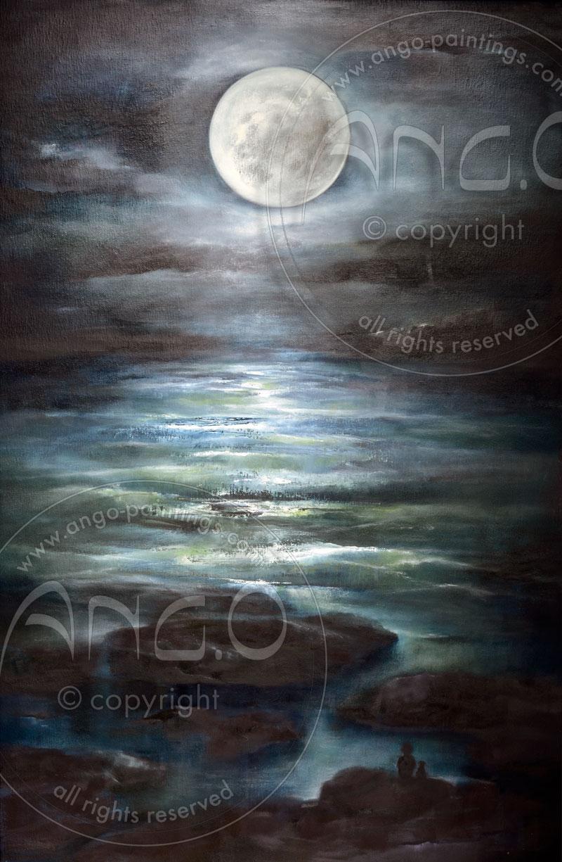 Ango paintings : sea painting
