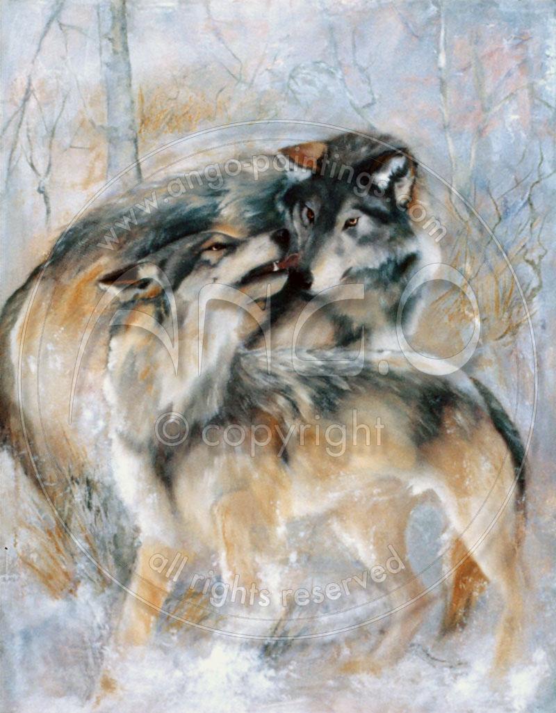 ang o paintings animals wildlife nature animal paintings