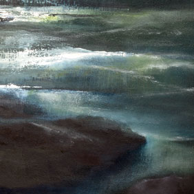 Dreamlike Sea painting